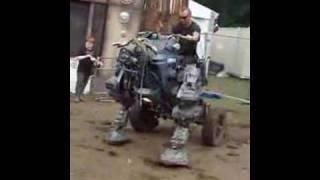 Trash City Robot 2 - Glastonbury 2008