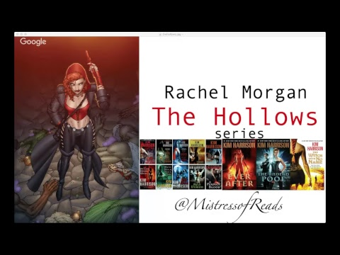 The Hollows Series by Kim Harrison   Mistress of Reads Live Show