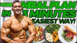 SET UP MEAL PLAN & MACROS IN 3 MINUTES (3 Easy Steps)