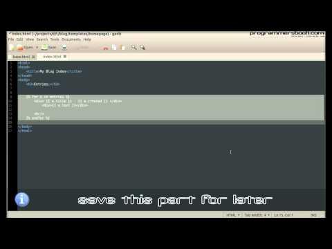 Advanced Template - Full Web Framework Python Django Tutorial XI Blog - Linux/Ubuntu/Windows