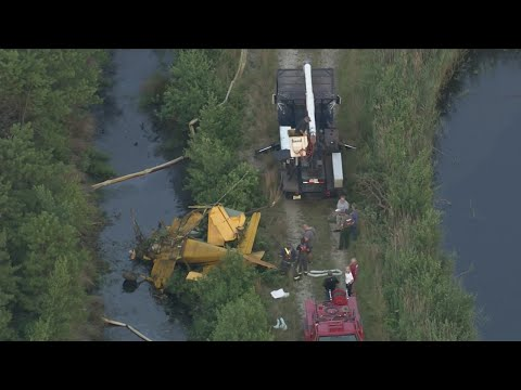 1 Injured After Plane Crashes In New Jersey
