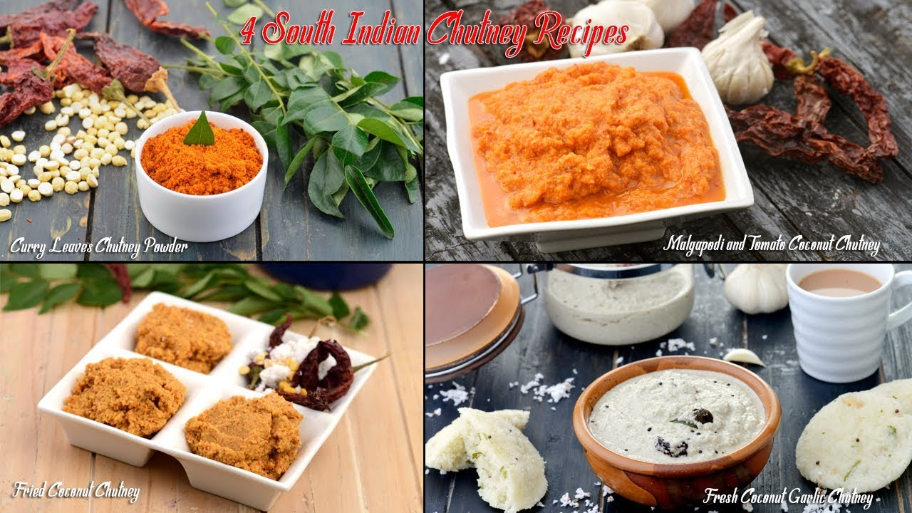 4 south indian chutney recipes by tarla dalal youtube 4 south indian chutney recipes by tarla dalal forumfinder Images