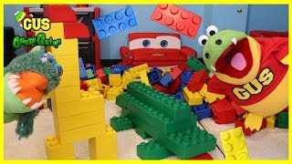 GIANT LEGO BUILDING CHALLENGE FOR KIDS!