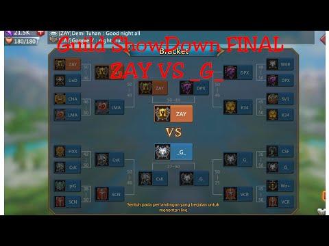 Guild Showdown | ZAY Vs _G_ FINAL!!!