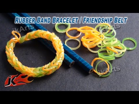 Rubber Band Bracelet WITHOUT any Tool - JK Arts 318