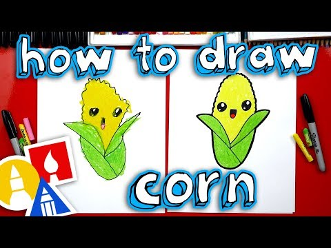 How To Draw Funny Corn