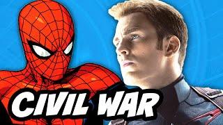 Captain America Civil War - Spider Man Changes Explained
