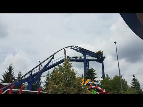 Legoland Lego Virtual Reality Coaster Rennen - Free fall Lego car