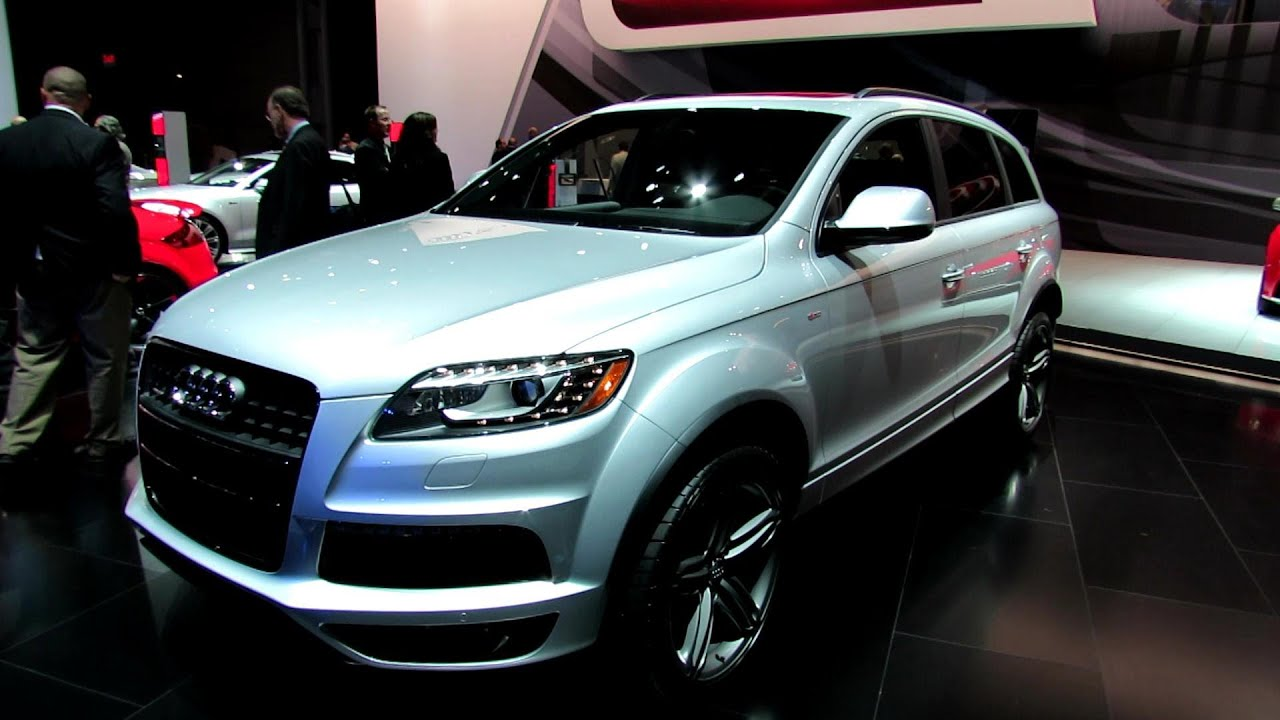 2012 audi q7 tdi s line exterior and interior at 2012 new york international auto show youtube. Black Bedroom Furniture Sets. Home Design Ideas