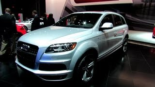 2012 Audi Q7 TDI S-Line Exterior and Interior at 2012 New York International Auto Show