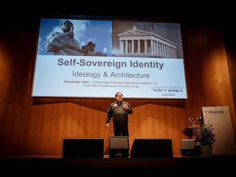 Christopher Allen - Ideology & Architecture of Self-Sovereign Identity | Odyssey Connect 2020