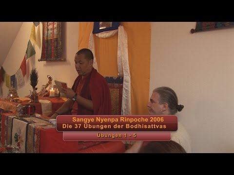 "Tenga Rinpoche BPL 2001. ""Hitting the Core in Three Words"" Part 2"