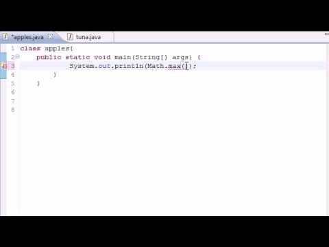 Java Programming Tutorial - 25 - Math Class Methods