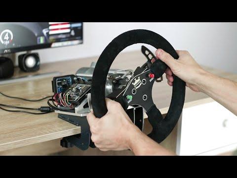 Самодельный руль для автосимуляторов - ЧАСТЬ 2 / DIY FFB steering wheel for PC - Part 2