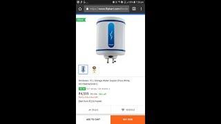 Hindware HS15MDW20SB1 -15 L Storage Water Geyser