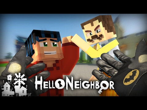Realistic Minecraft Hello Neighbor