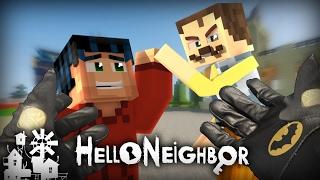 Realistic Minecraft: Hello Neighbor - Nice Neighbor?  & Batman Buys Robin a Birthday GIFT