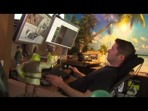 Inside DreamWorks' studio