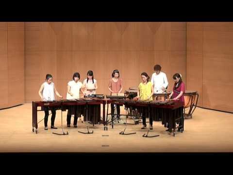 Percussion Ensemble - Sabere Dance 「剣の舞」① 打楽器 アンサンブル