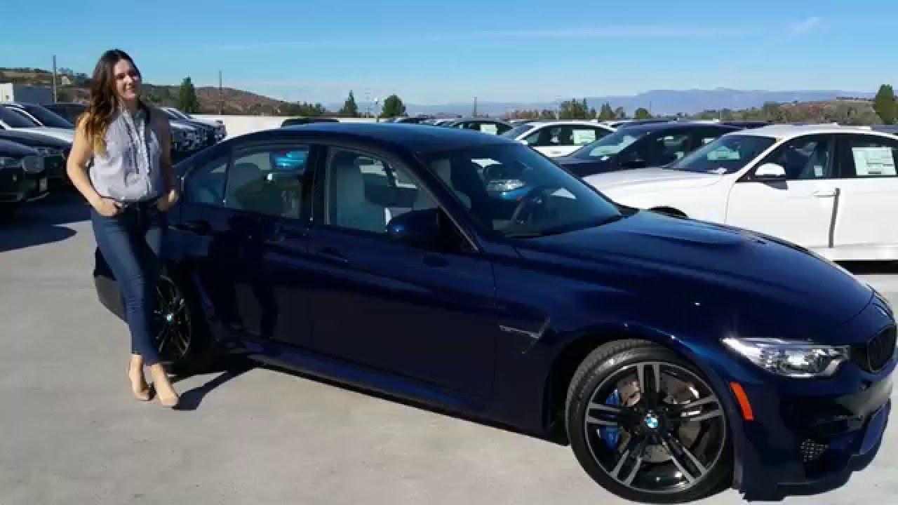New Bmw M3 In Tanzanite Blue