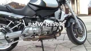 Bmw Motorrad R850r Flat Boxer Engine Walk Around, Close Ups And Sound Check After The 40k Service