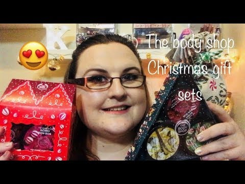 The Body Shop Holiday Gift Sets Unboxing Katarina Cooper