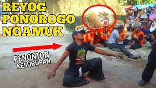 MERINDING.!!! Reyog Ponorogo Ngamuk Bikin Penonton Ndadi Kesurupan