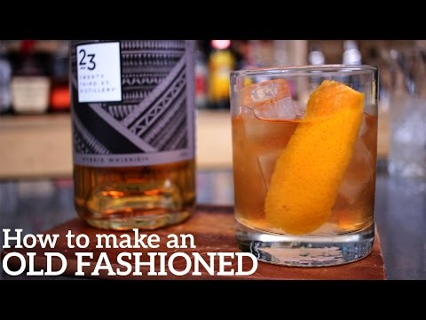 Old Fashioned Cocktail Recipe - QUICKEST!!
