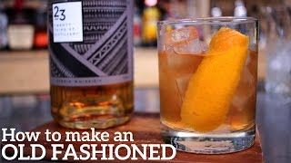 Old Fashioned Cocktail Re¢ipe - QUICKEST!!