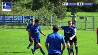 A-Junioren - 1:4  Jan Philipp  - SSV Reutlingen 1905 Fußball vs SV Waldhof Mannheim