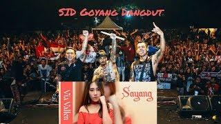 SID Nyanyi & Goyang lagu Dangdut Lirik Bahasa Jawa dari Via Vallen