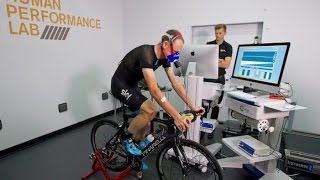Chris Froome visits the GSK Human Performance Lab for Independent Physiological Assessment