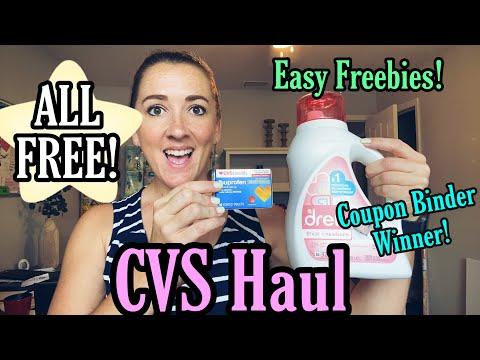CVS Haul - ALL FREE! + Giveaway! 7/25-31/21
