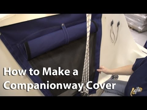 How to Make a Companionway Cover
