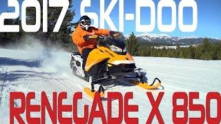 STV 2017 Ski-Doo Renegade X 850