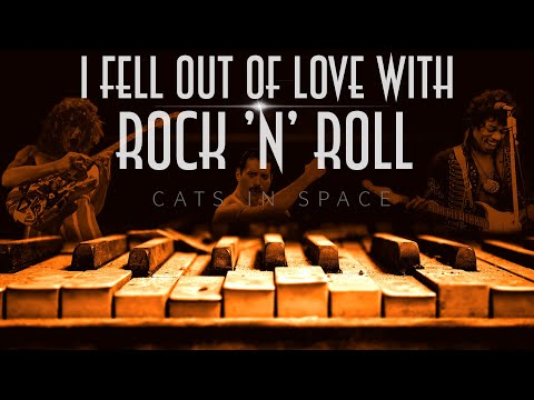 """CATS in SPACE - """"I FELL OUT OF LOVE WITH ROCK 'n' ROLL"""" -  NEW SINGLE FROM THE NEW ALBUM 'ATLANTIS'"""