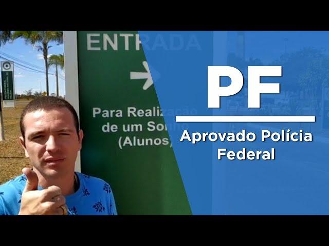 """""""Um dia será você, alcançando seu objetivo!"""" – Luan de Oliveira, aprovado PF - AlfaCon"""
