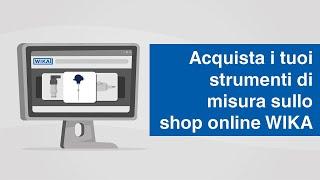 Acquista i tuoi strumenti di misura nello shop online WIKA