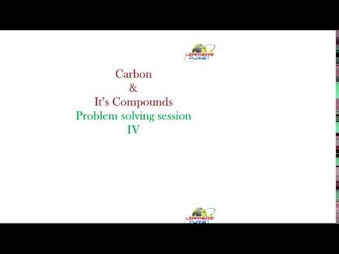 CBSE Chemistry Carbon and Its Compounds questions answers session 4