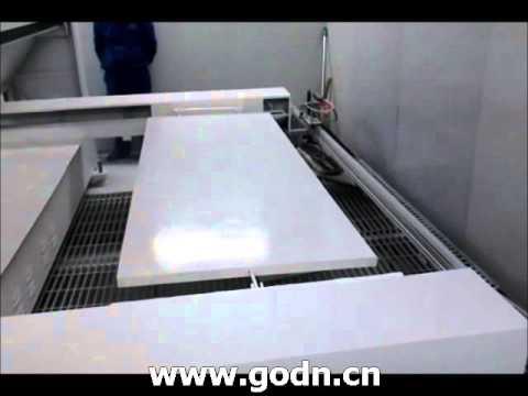 Qingdao GODN SPD2500A Door spraying machine