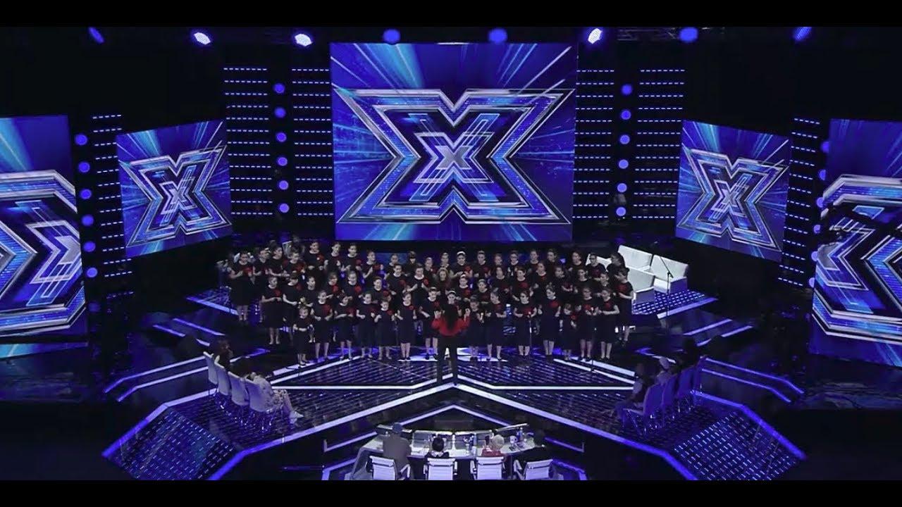 X ფაქტორი  გორის გოგონათა გუნდი  X Factor  Goris Gogonata Gundi  4 სკამი