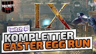 Kompletter Easter Egg Run - ♠ CoD: Black Ops 4 Zombies ♠ - Dhalucard