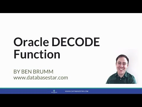 Oracle DECODE Function