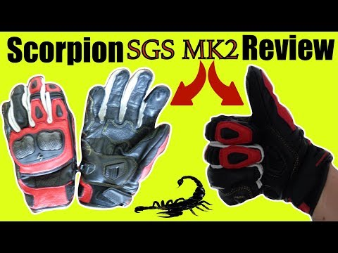 Scorpion SGS MKII Gloves Review: Best Short Cuff Motorcycle Glove? User Guide & Opinion