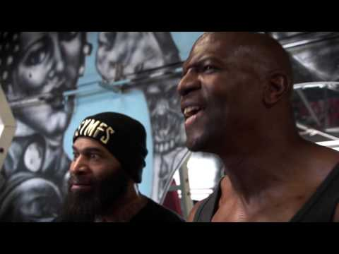 Terry Crews vs C.T. Fletcher  CARNAGE!!! Ft. Big Rob,Samson Strong & Legendary Bulo