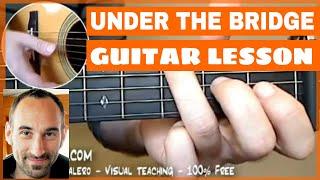Under The Bridge Guitar Lesson - part 1 of 2 [Intro]