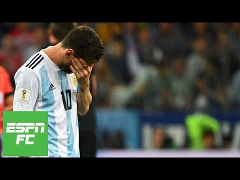Lionel Messi saw 'no hope' next to him in 3-0 loss to Croatia at 2018 World Cup | ESPN FC