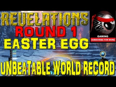"ROUND 1 UNBEATABLE WORLD RECORD ""REVELATIONS"" MAIN EASTER EGG 