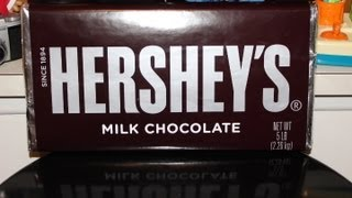 UNWRAPPING WORLDS LARGEST HERSHEY