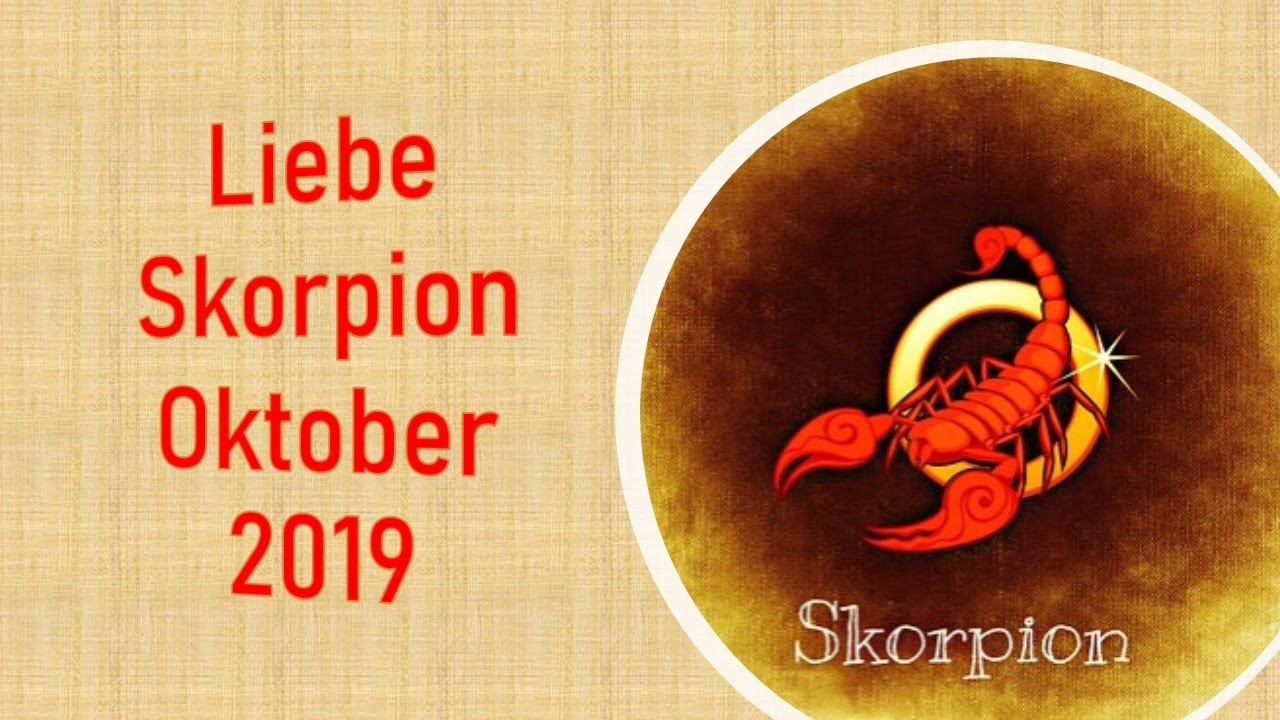 skorpion oktober 2019